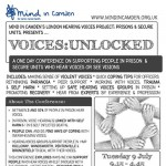 Voices Unlocked Flyer