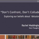 "Short Thought #1: ""Don't Confront. Don't Collude?"""