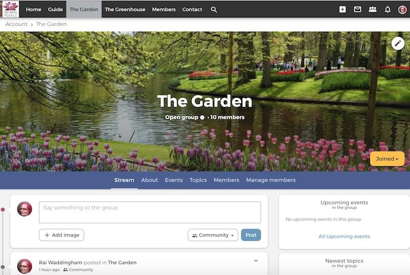 Screenshot of The Garden